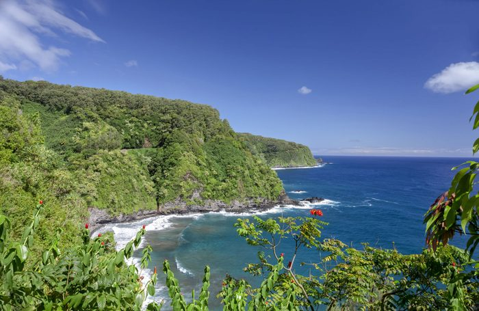 The most celebrated road in all of Hawaii, the famous Hana Highway