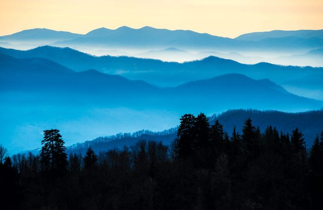 Route 441 runs right through the heart of Great Smoky Mountains National Park