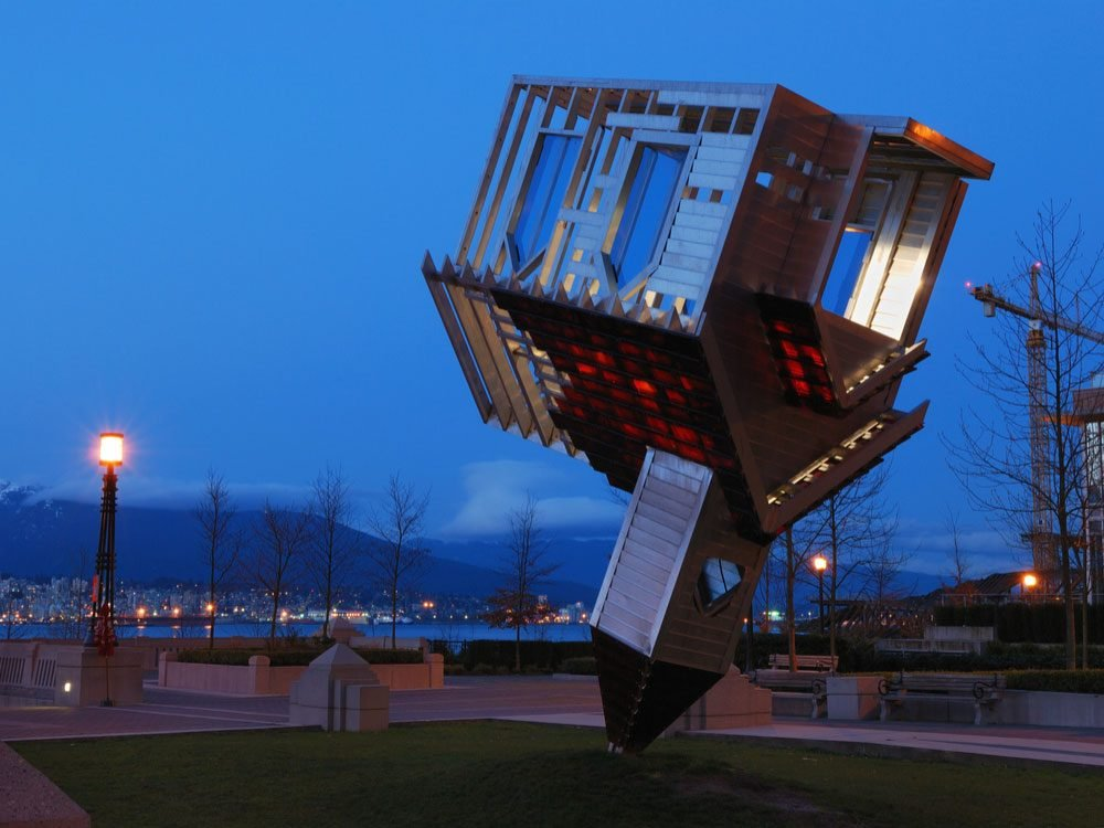 Upside down church in Vancouver