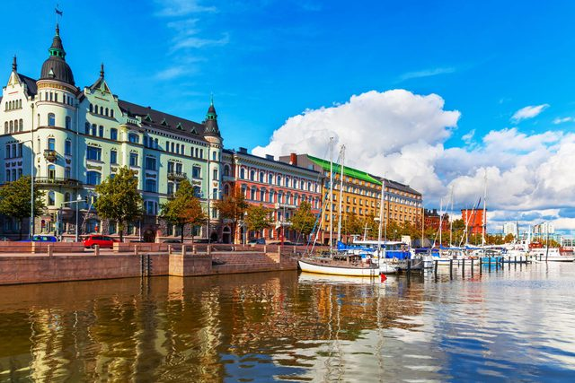 Helsinki is one of the must-visit Olympic cities