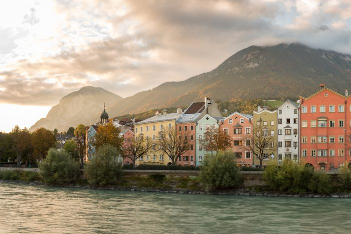 Innsbruck in Austria is one of the must-visit Olympic cities