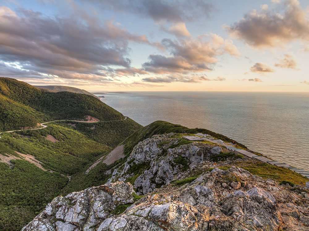 The Cabot Trail is one of Canada's natural wonders