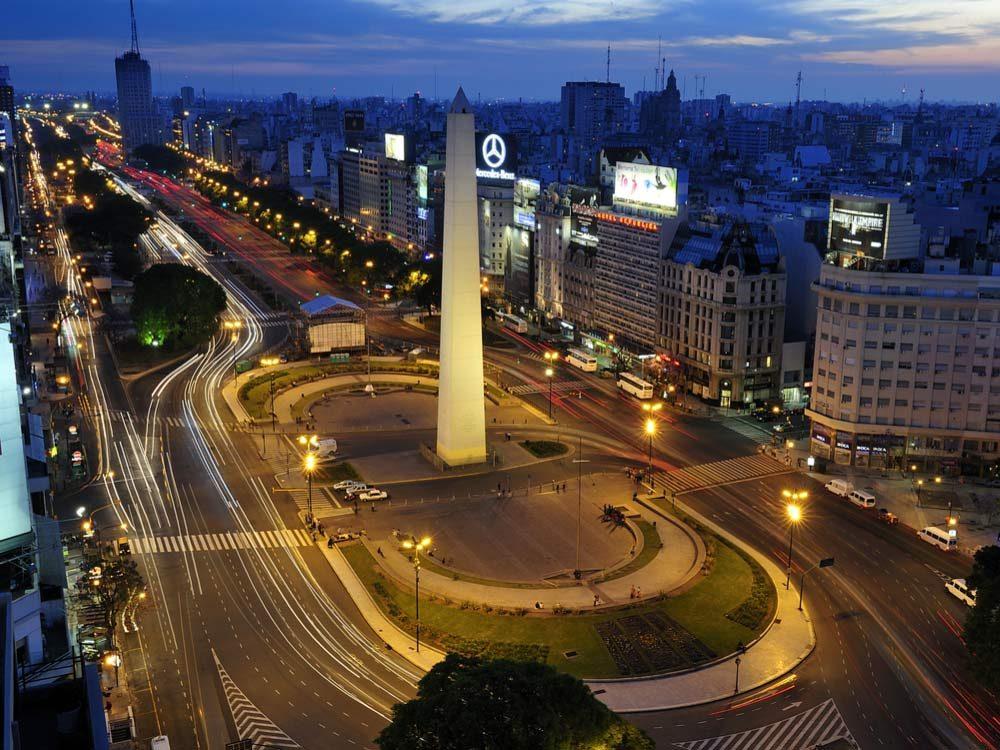Avenida 9 De Julio in Buenos Aires