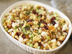 Gluten-Free Cranberry Walnut Stuffing