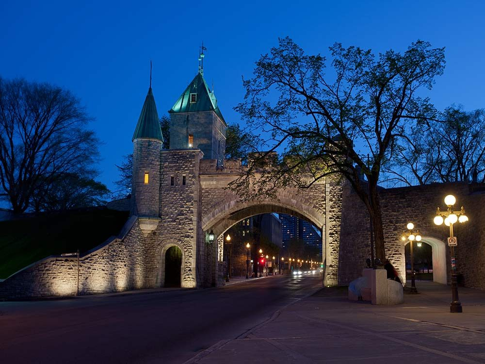 Fortifications in Quebec City