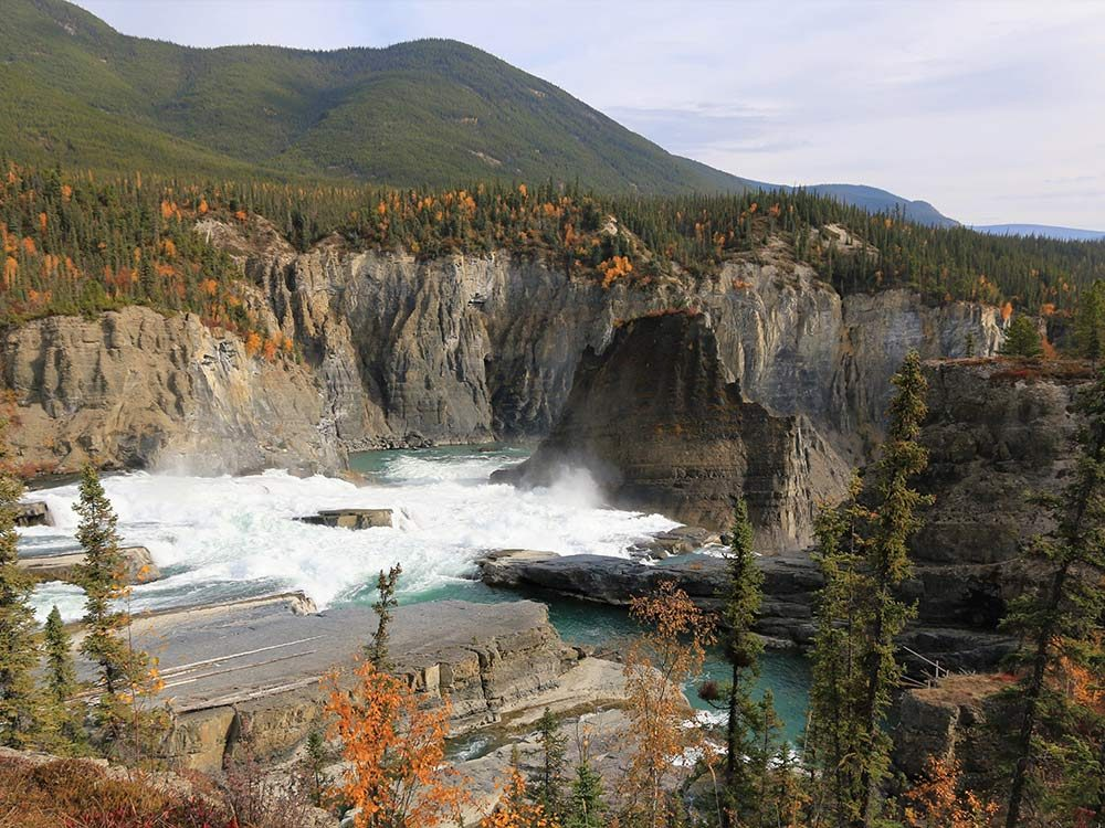 Nahanni National Park Reserve in the Northwest Territories