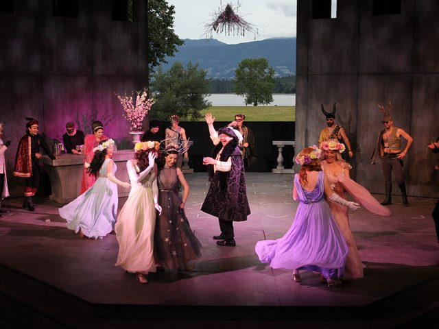 Vancouver's Bard on the Beach performance of Romeo and Juliet