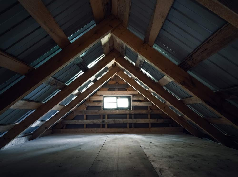 Inspect the hard-to-get-to spaces in your house