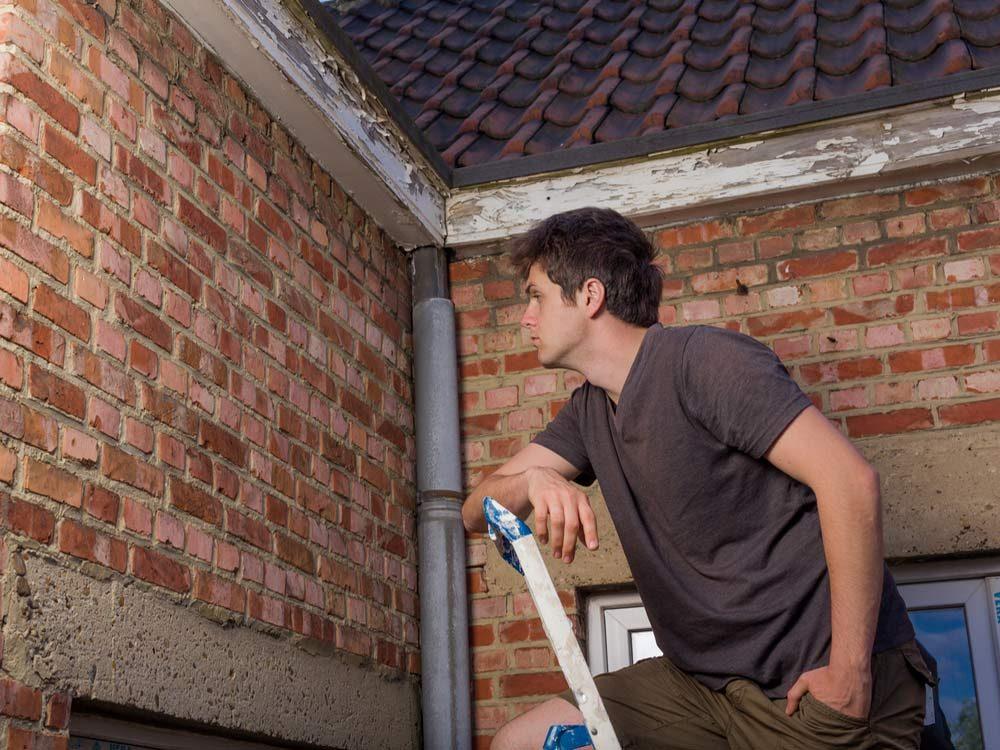 Inspect your exterior walls, doors, and windows