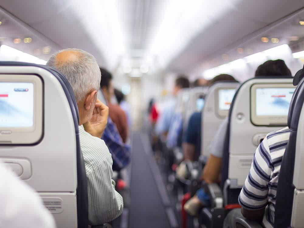 Passengers on flight