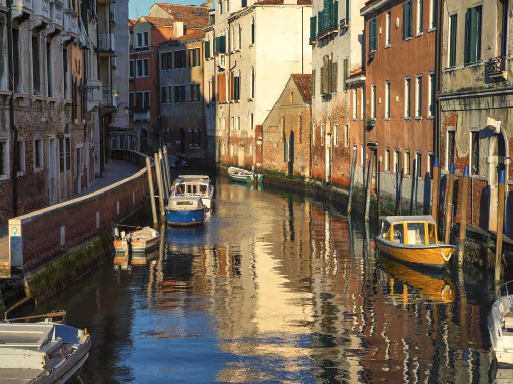 Streets in Venice, Italy