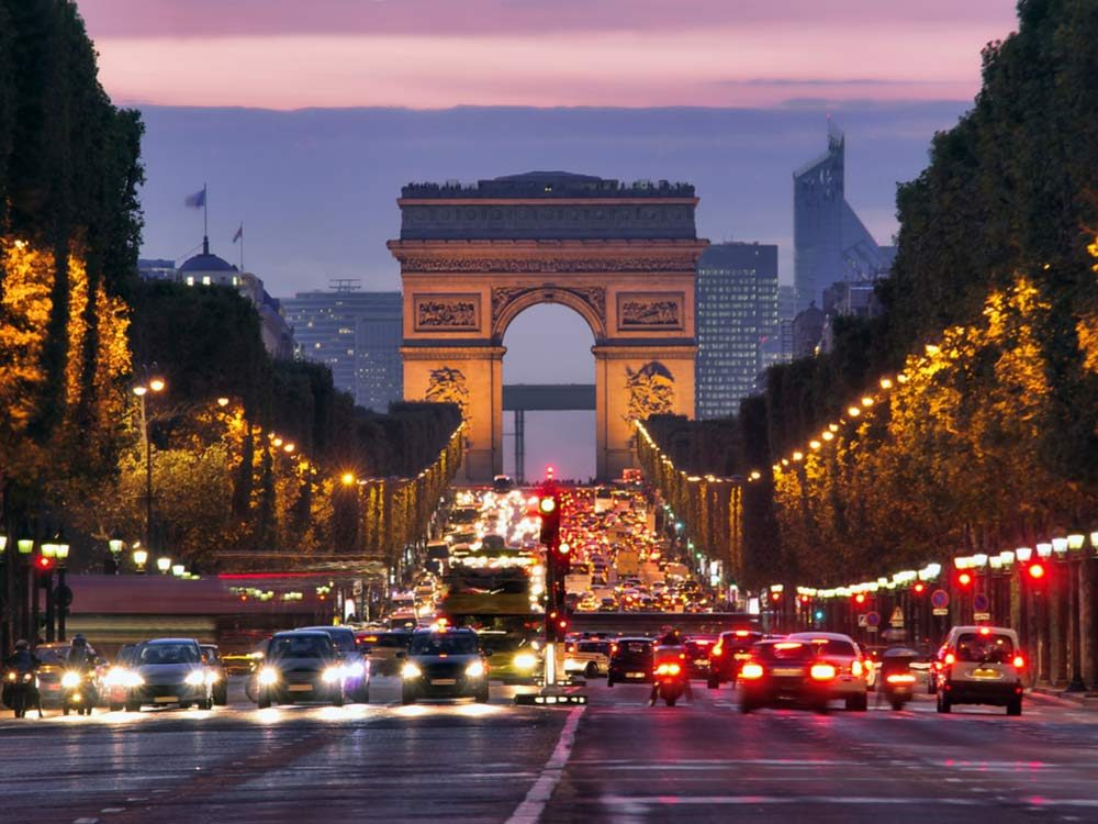 Champs Elysees is one of the most famous streets in the world