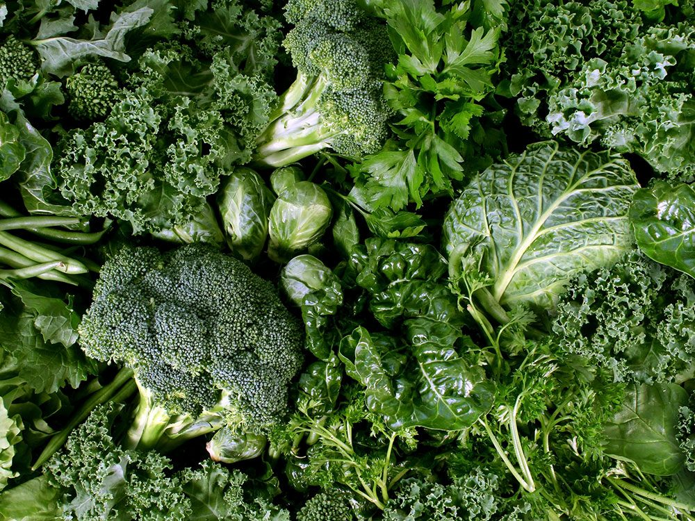 Essential vitamins your body needs: Vitamin K from leafy greens