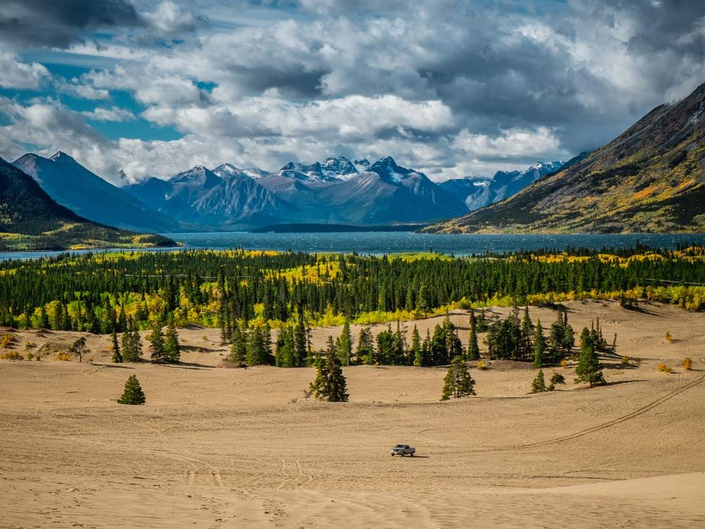 Carcross Desert is one of the most popular parks in Canada