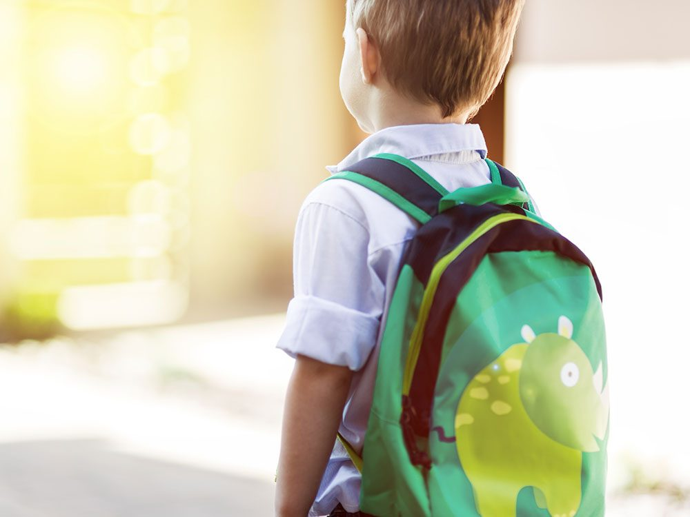 What to do when your child is afraid to go to school