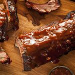 Smoked Spareribs With Backwoods BBQ Sauce