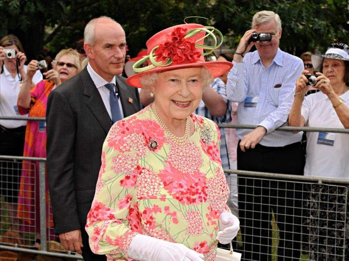 Queen Elizabeth in Toronto in 2010