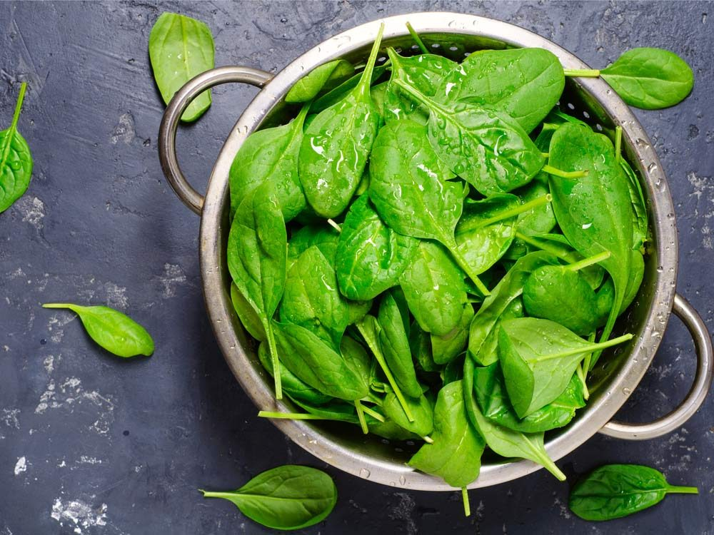 Spinach increases fertility