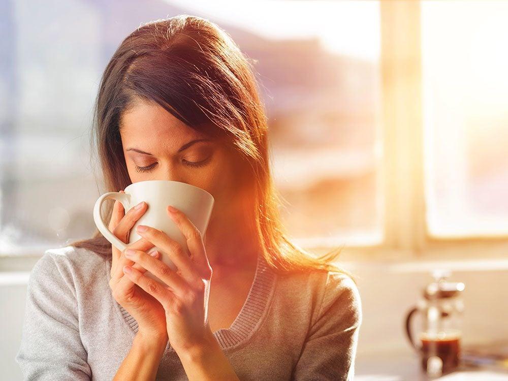 Caffeine withdrawal can cause headaches