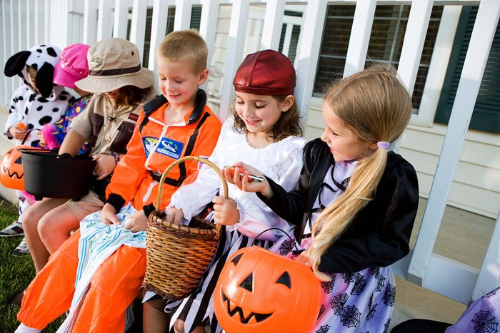 Control Your Candy After Halloween