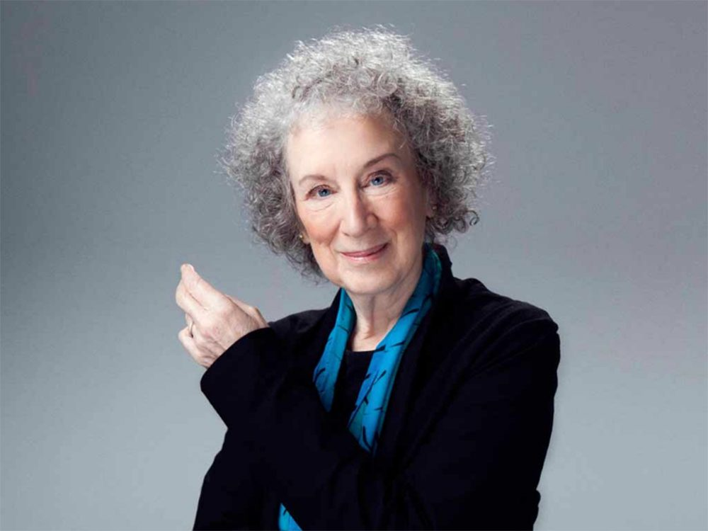 Author and environmental activist Margaret Atwood