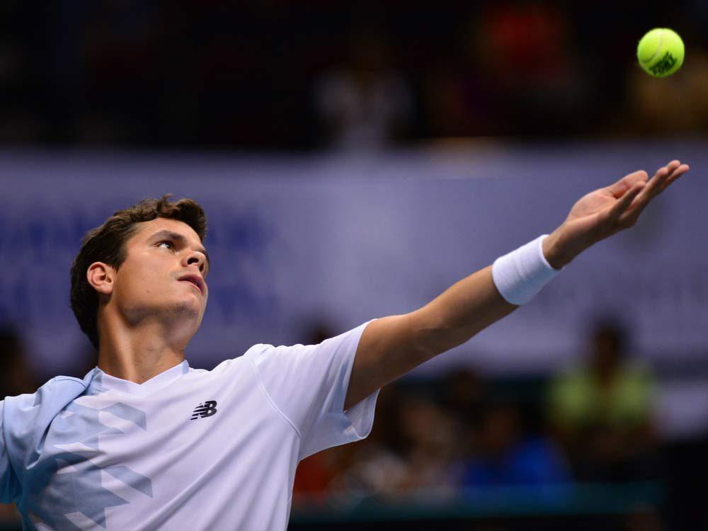 Tennis superstar Milos Raonic
