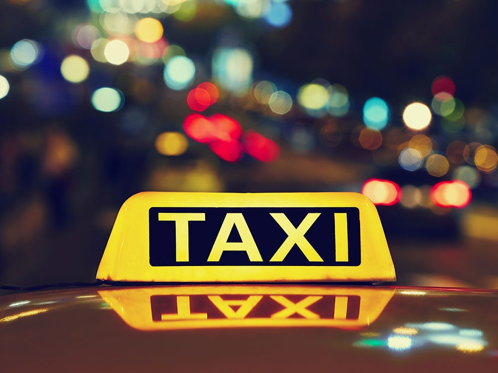 Strange Canadian laws about taxi drivers