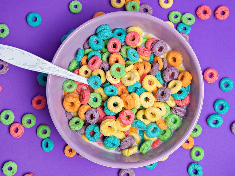 Fruit loops cereal