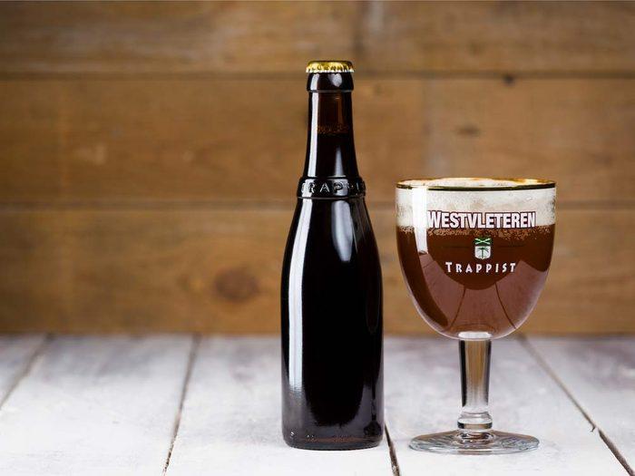 Westvleteren beer in Bruges, Belgium