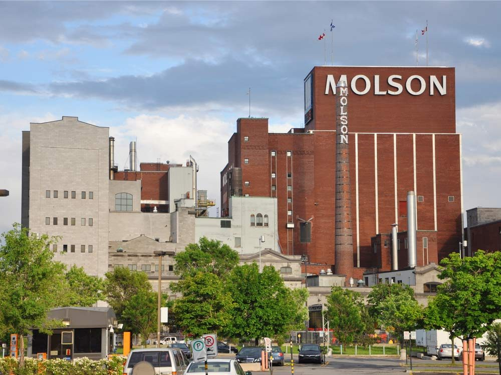 Molson Brewery in Montreal, Canada
