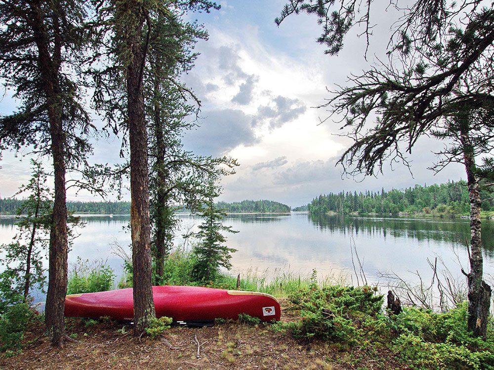 Churchill River in Saskatchewan