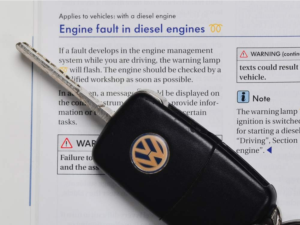 Volkswagen car manual