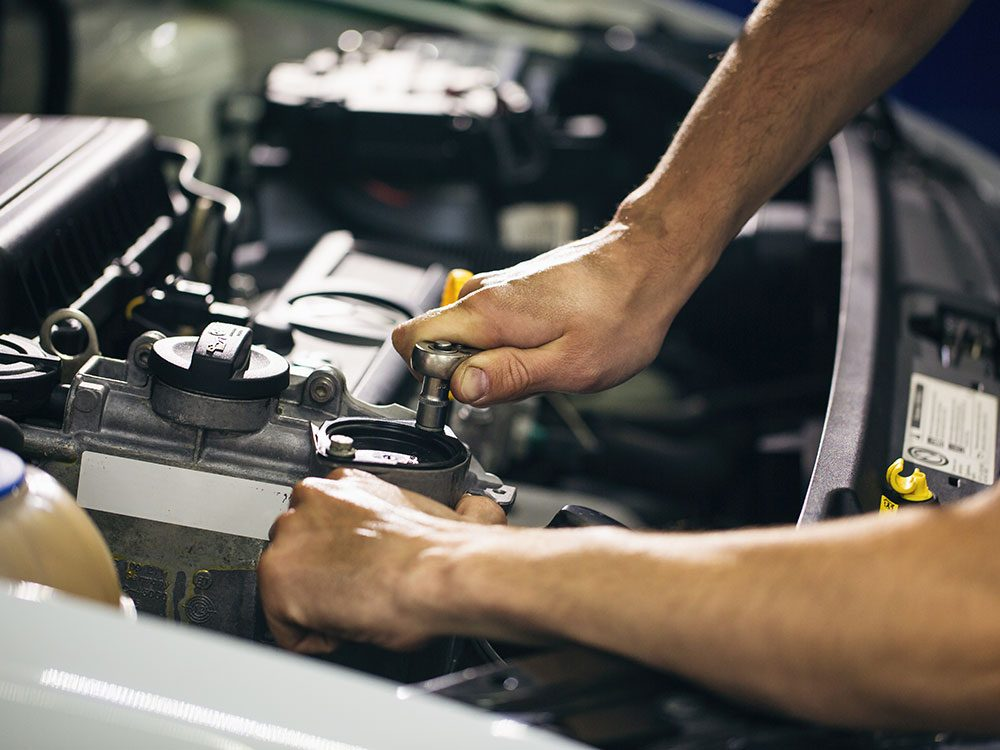 Brush up on maintenance when selling a used car