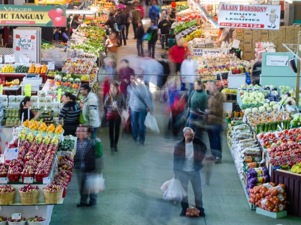 Jean-Talon Market in Montreal