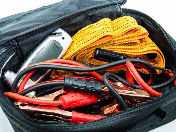 Emergency kit in car
