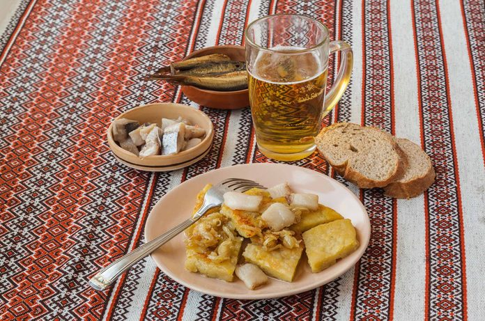 Lithuania Christmas dishes