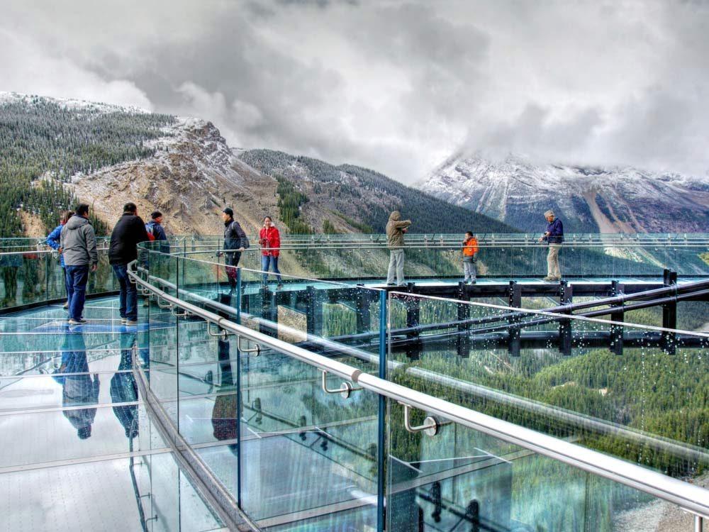 Glacier Skywalk in Banff, Alberta