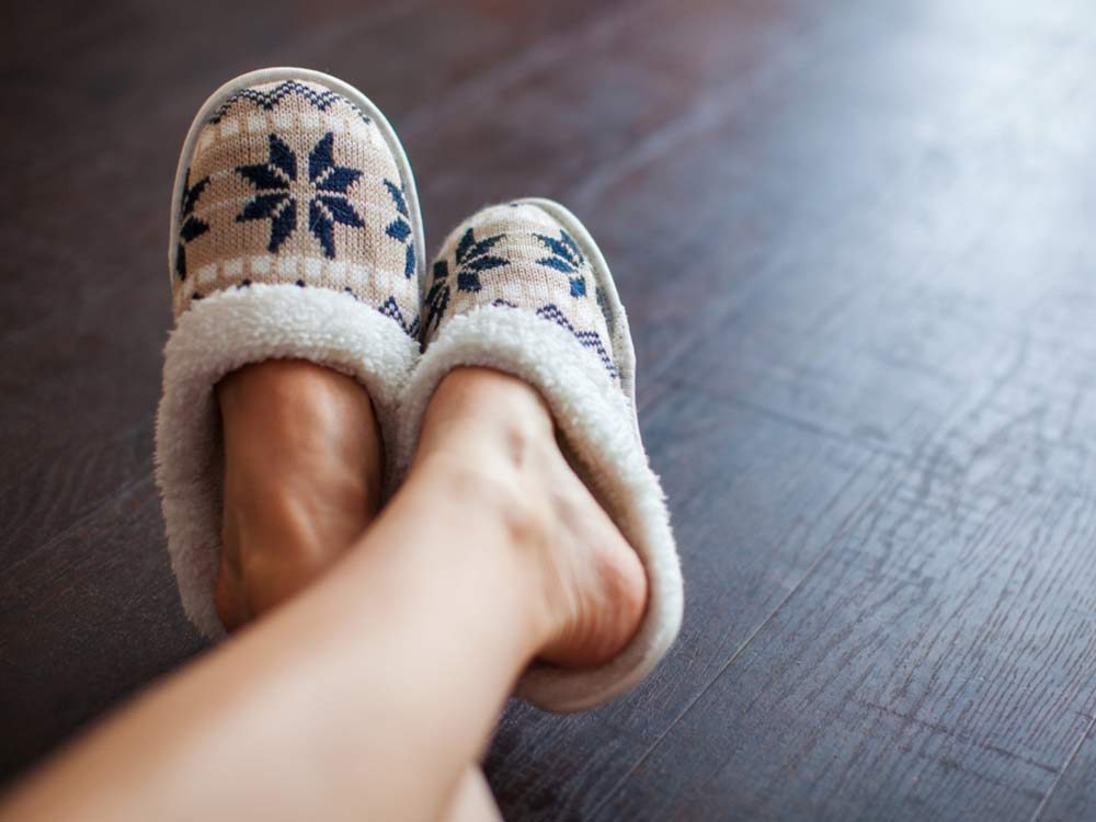 Warm and comfy slippers