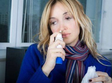 How long can I use a nasal spray for a stuffy nose?