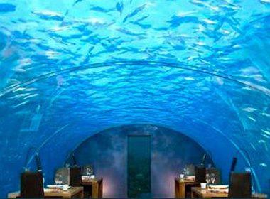 1. Ithaa Undersea Restaurant - Rangali Island, Maldives