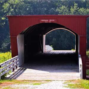 7. Iowa: Bridges of Madison County