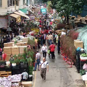 3. Flower Market, Hong Kong