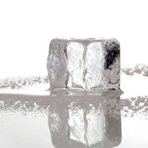 9. Use Ice Cubes