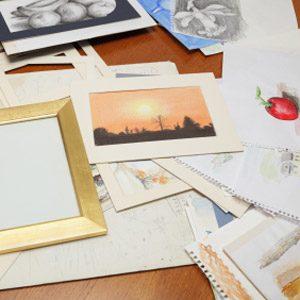 1. Make Your Own Framed Art