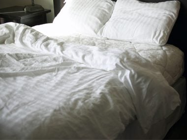 Wash Your Bedding in Very Hot Water Every Week