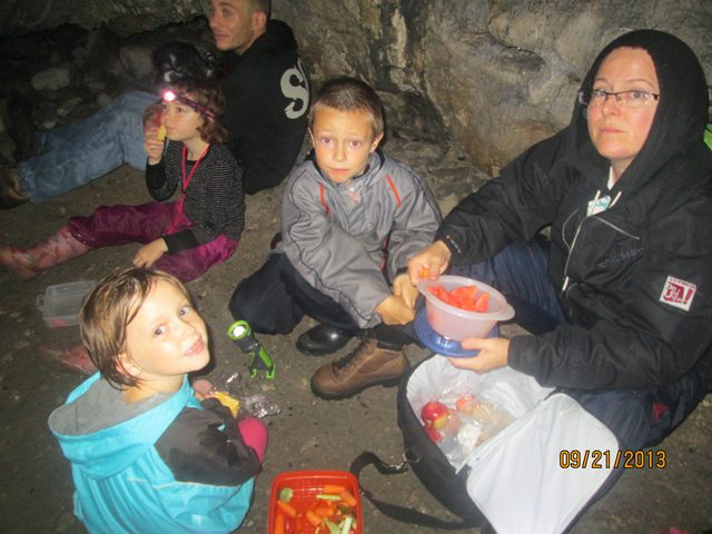 Lunch in the Caves