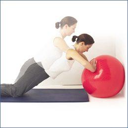 Balance Ball Push-Ups