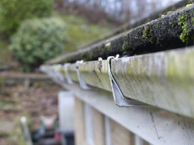 Make Sure Your Gutters Aren't Clogged