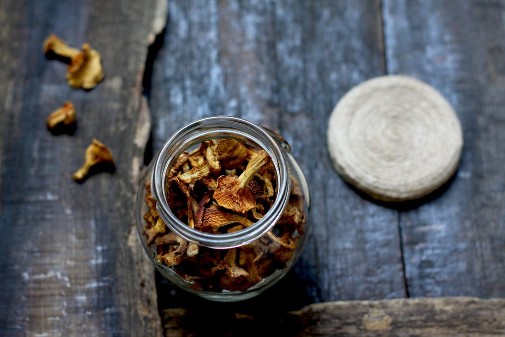 Pick Up a Jar of Dried Shiitake Mushrooms