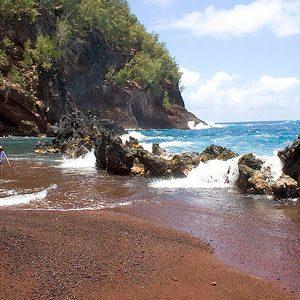 1. Kaihalulu Beach - Maui, Hawaii